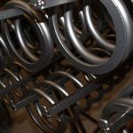 New springs leaflet about compression springs and tension springs.